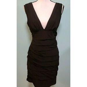 Le Chateau Black Bodycon Mini Dress NWT 👗